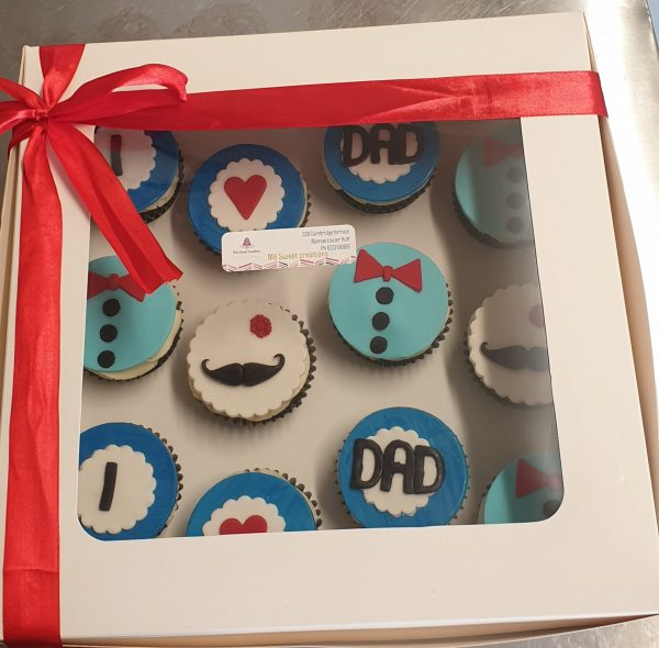 Fathers day 12pack cupcakes