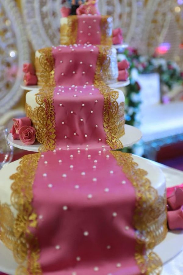Wedding reception cakes