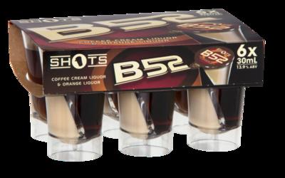 SHOTS B52 6PK 30ML