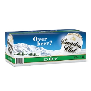CANADIAN CLUB N DRY 10PK CANS 330ML