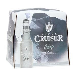 CRUISER 5% ICE 12PK BTLS 275ML
