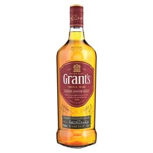 GRANTS SCOTCH WHISKY 1000ML
