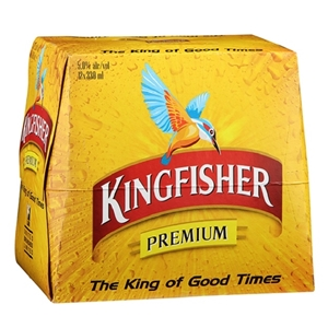 KINGFISHER PREMIUM LAGER 12PK BTLS 5% 330ML