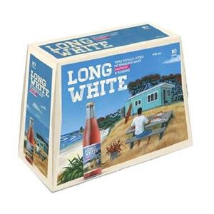 LONG WHITE RASPBERRY 10PK BTLS 320ML