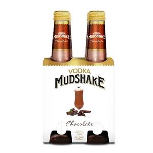 MUDSHAKE CHOCOLATE 4PK BTLS 275ML