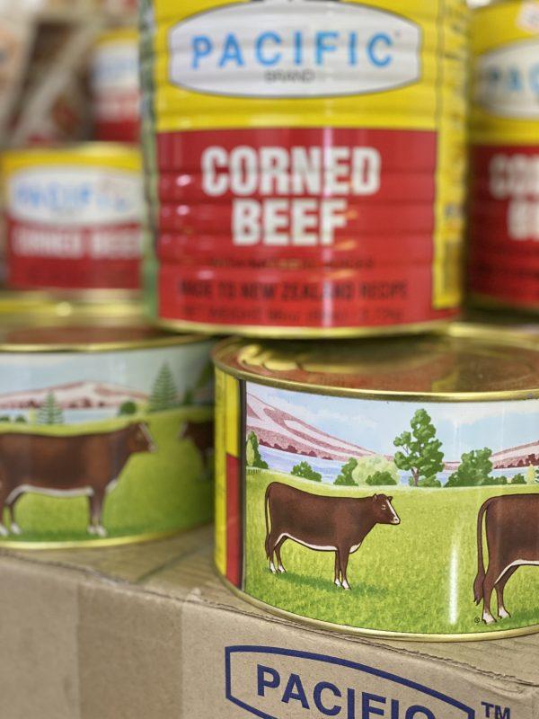 Pacific corn beef
