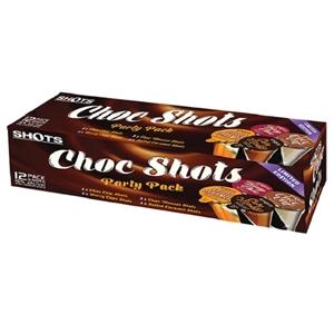 SHOTBOX CHOCBOX VARIETY PACK 16% 12PACK 30ML