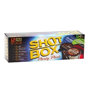 SHOTS BOX 12PK MIX GIFT PK