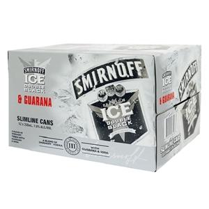 SMIRNOFF 7% VODKA SODA N GUARANA 7% 12PK CANS 250M