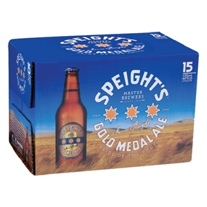 SPEIGHTS GOLD 15PK BTLS 330ML
