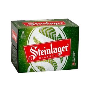 STEINLAGER CLASSIC LAGER 15PK BOTTLES 330ML