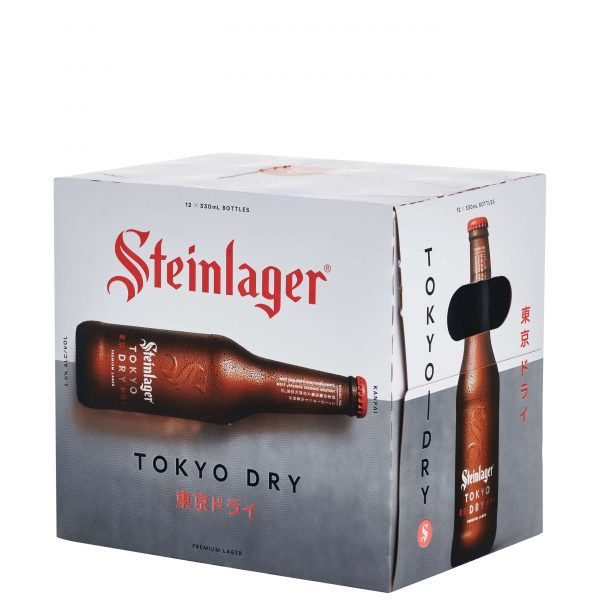 Steinlager Tokyo Dry 330mL Bottle 12 Pack