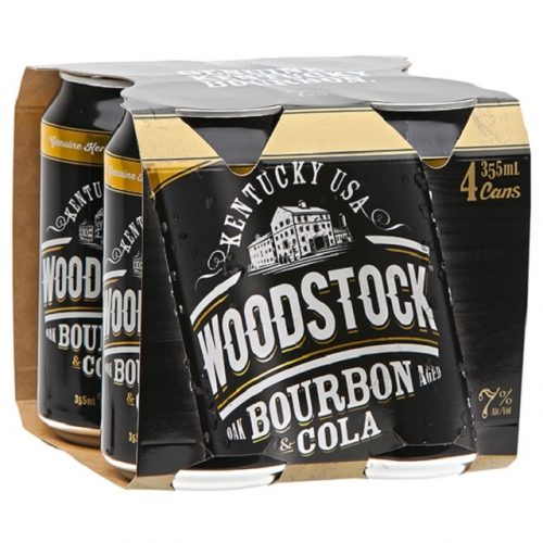 WOODSTOCK 7% 4PK CANS 355ml