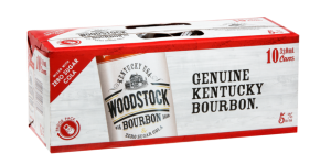WOODSTOCK 5% BOURBON N ZERO SUGAR COLA 10PK CANS 330ML