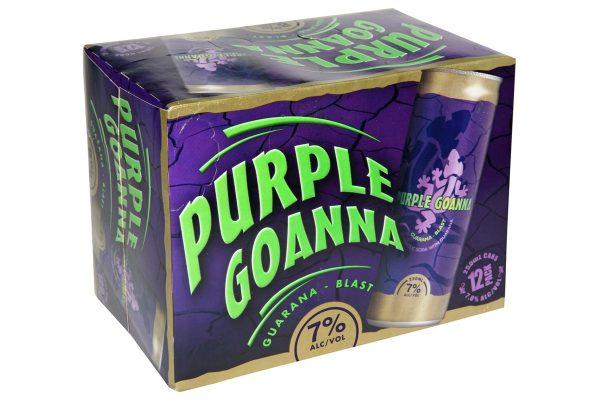 PURPLE GOANNA 12 PK 7% cans