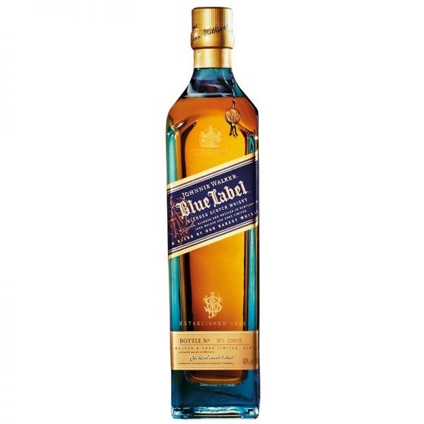 JOHNNIE WALKER BLUE 700 with gift case