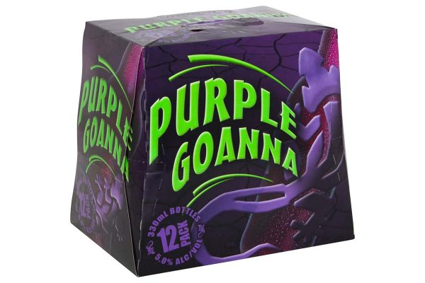 Purple Goanna 5% 12 Pack Bottles 330ml