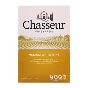 CHASSEUR MEDIUM WHITE WINE 3LTR