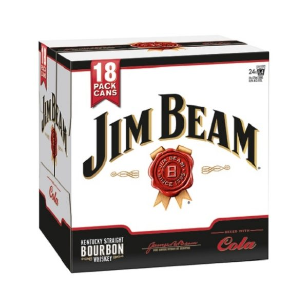 Jim Beam 18pk 330ml can